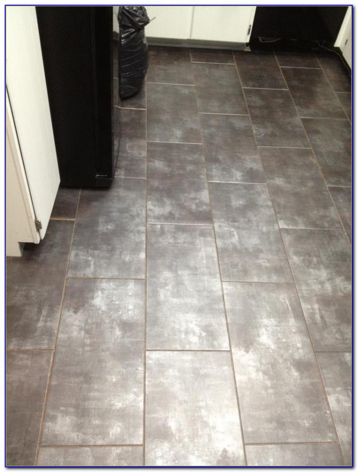 Vinyl Tile With Grout Installation