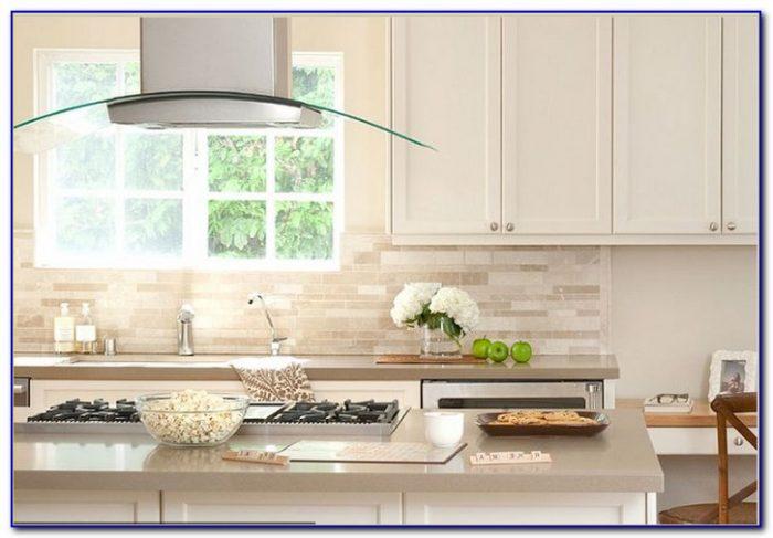 White Glass Marble Mix Mosaic Backsplash Tile