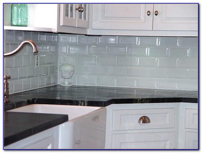 White Subway Tile Backsplash With White Grout