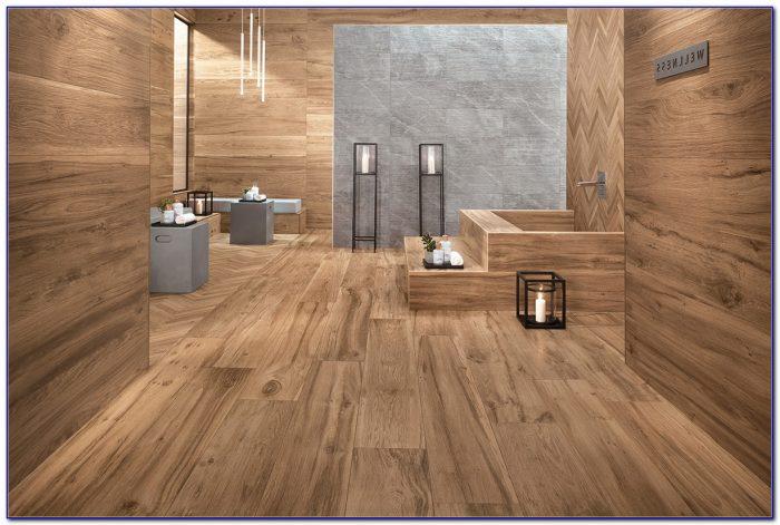 Wood Grain Porcelain Tile Flooring