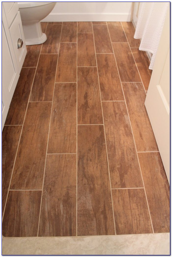 Wood Grain Porcelain Tile Shower