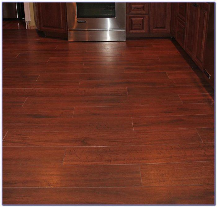 Wood Plank Ceramic Tile Flooring
