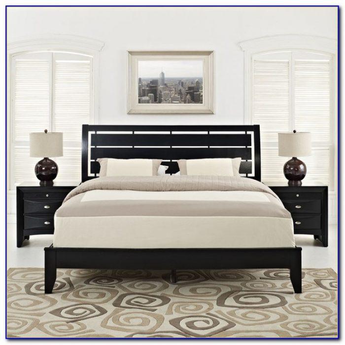 3 Piece Bedroom Set Black
