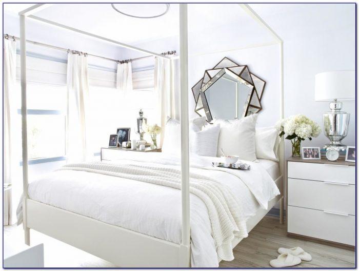 All White Bedroom Furniture Set