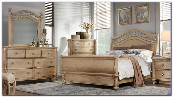 Ashley King Sleigh Bedroom Set