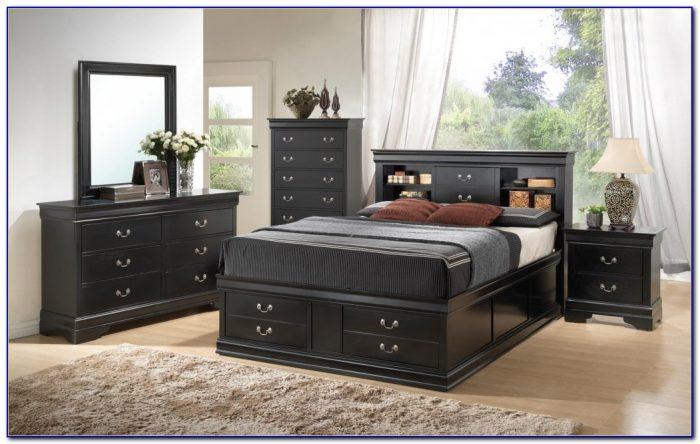 Black Bedroom Sets Queen