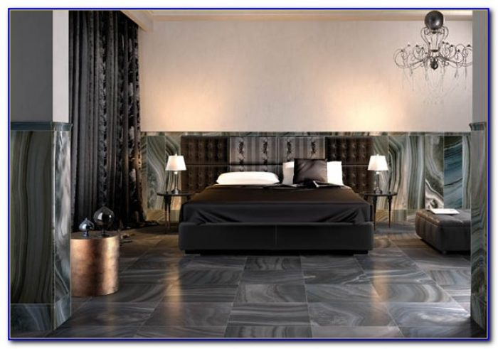 Black Floor Tiles For Bedroom