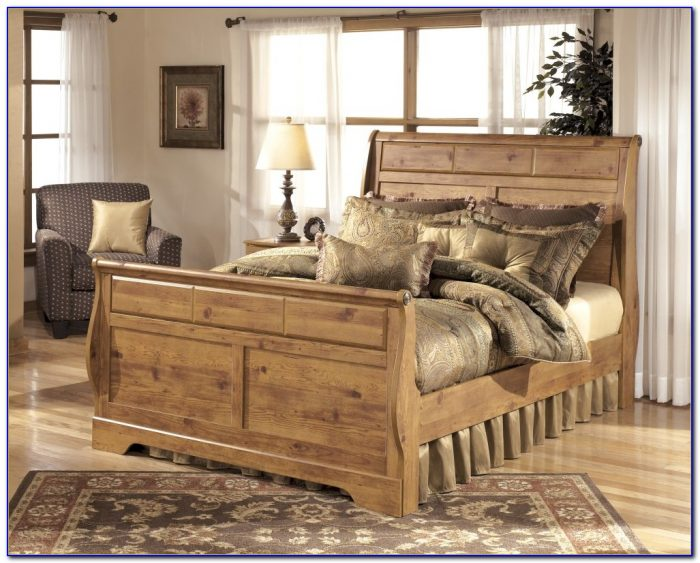 California King Sleigh Bedroom Set