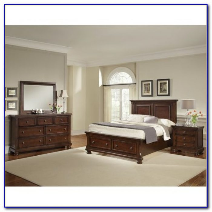 California King Storage Bedroom Sets