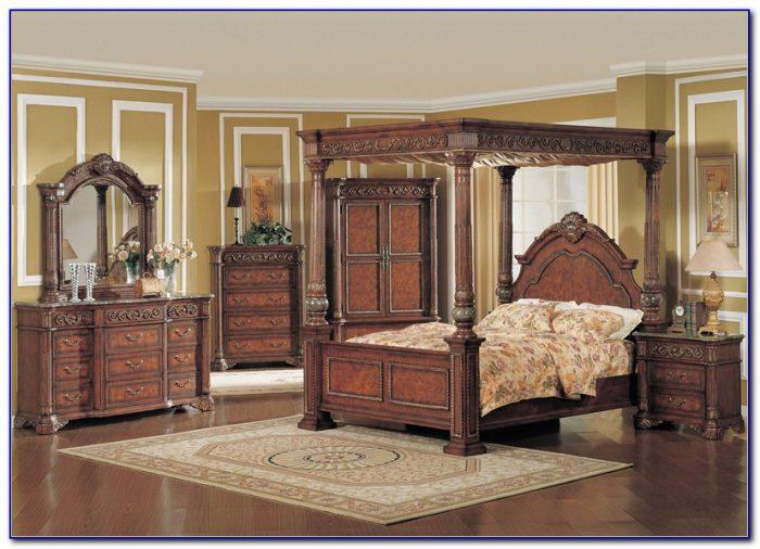 Canopy Bedroom Sets Queen