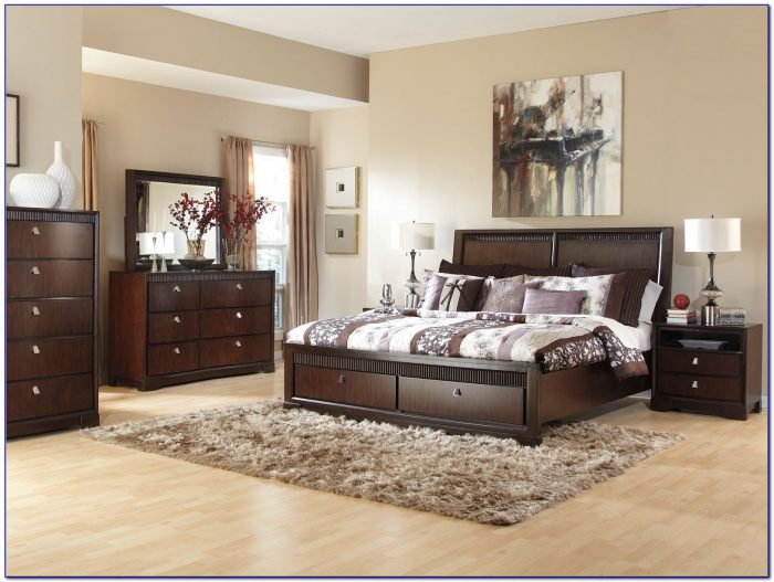 Contemporary Black King Bedroom Sets