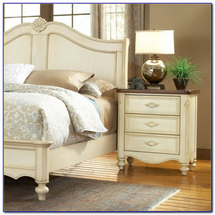Country French Bedroom Furniture White