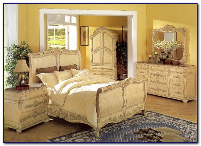 Faux Marble Top Bedroom Sets