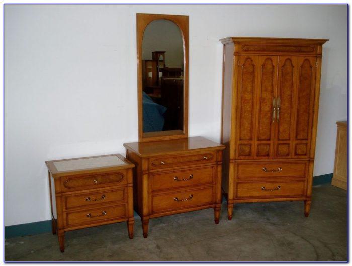 Mid Century Modern Bedroom Set Vintage