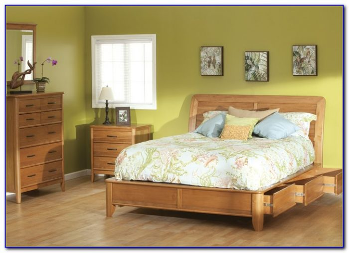Oak Wall Unit Bedroom Furniture