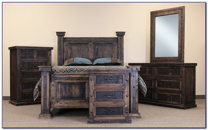Rustic King Size Bedroom Sets