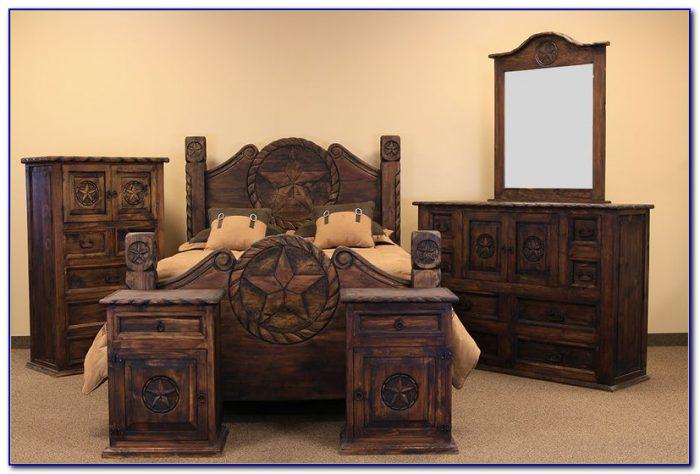 Rustic Log Bedroom Furniture Sets