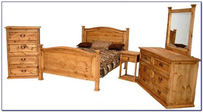Rustic Pine Bedroom Furniture Sets