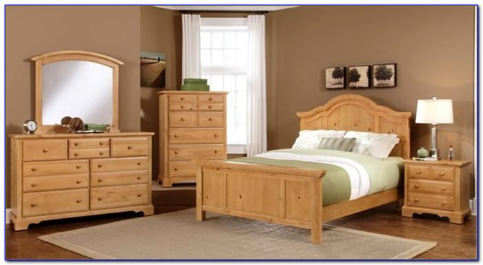 Solid Wood Bedroom Sets Queen