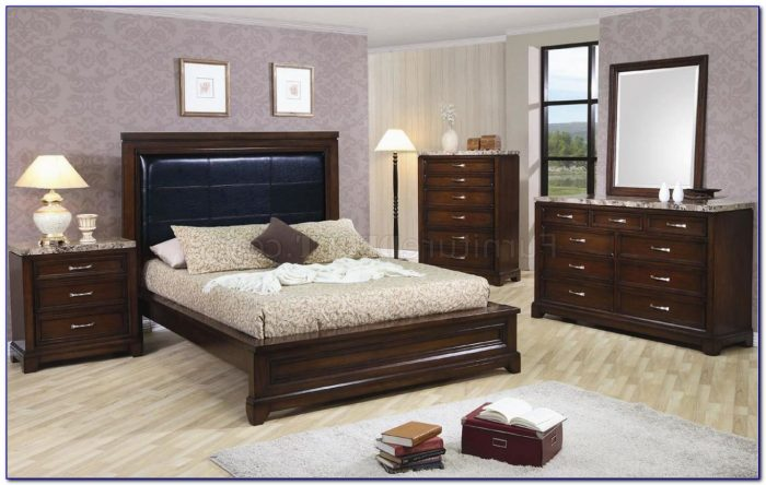 Thomasville Marble Top Bedroom Set