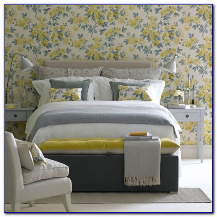 Yellow Wallpaper For Bedrooms