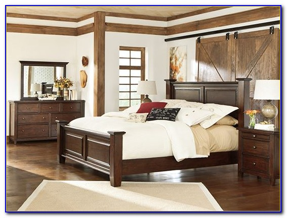 Ashley Cavallino King Bedroom Set - Bedroom : Home Design ...