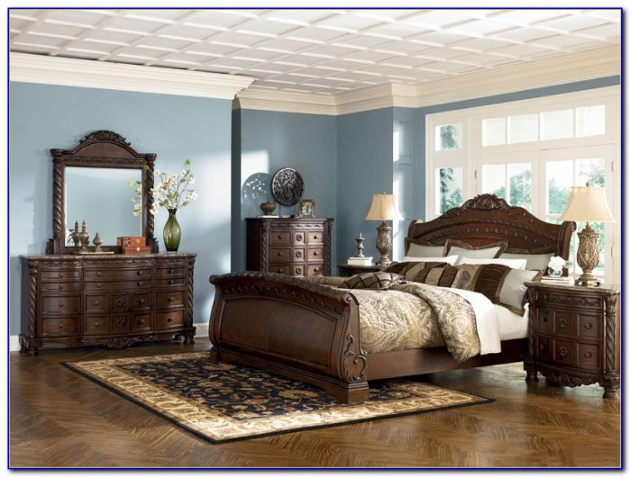 Ashley Shay King Bedroom Set