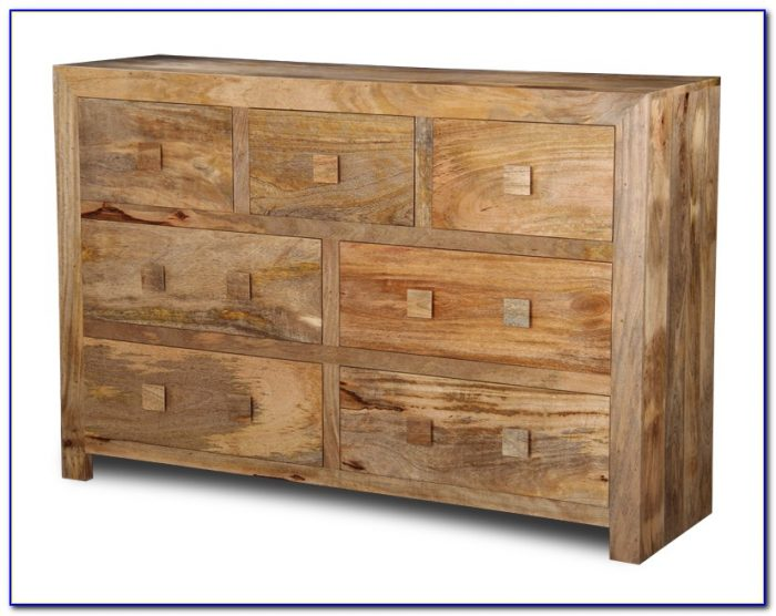 Dark Mango Wood Bedroom Furniture