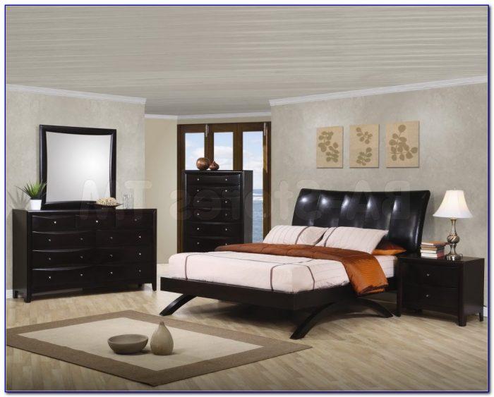 Henry Link White Wicker Bedroom Set