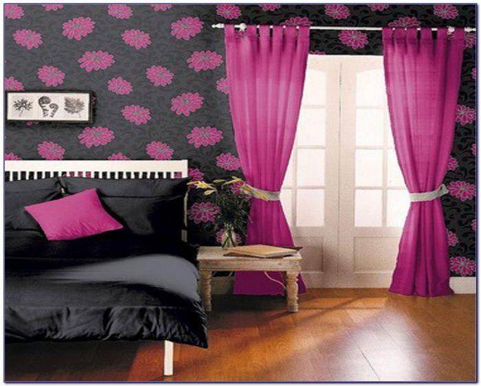 Hot Pink Zebra Bedroom Accessories