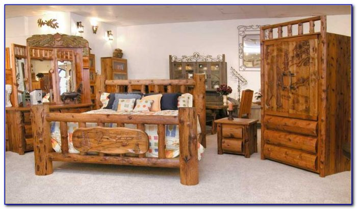Lodge Style Bedroom Sets
