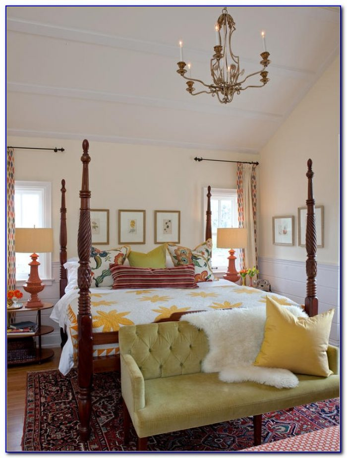 Master Bedroom Bay Window Treatments