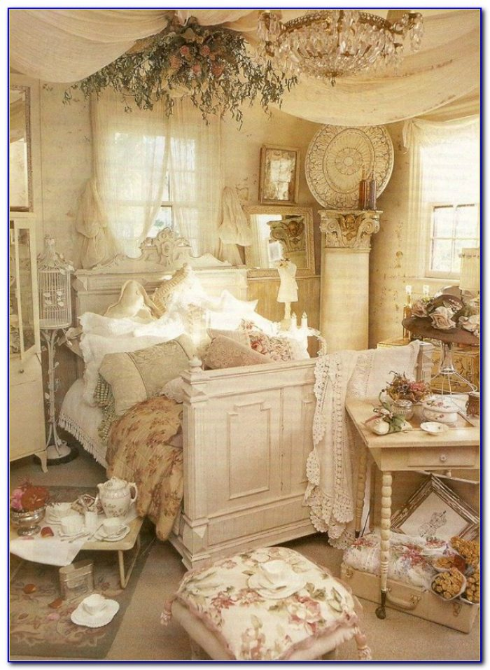 Metal Shabby Chic Bedroom Sets