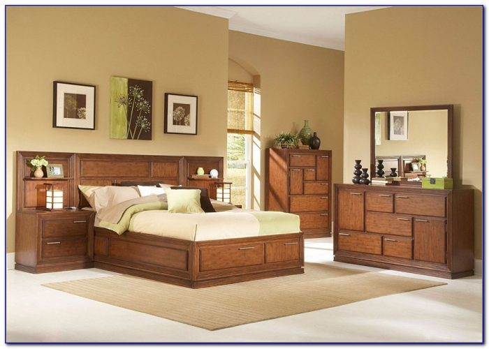 Modern Solid Wood Bedroom Sets