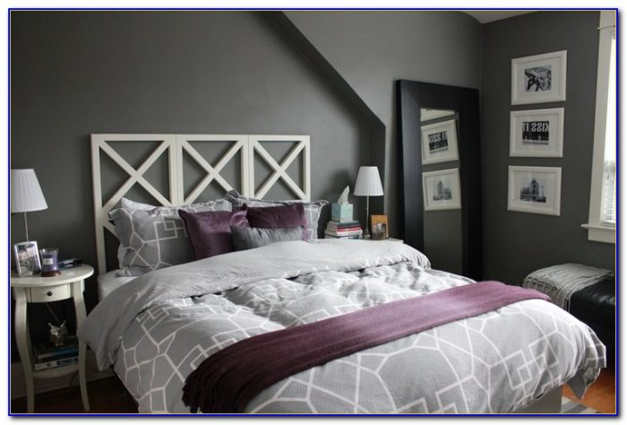 Purple And Gray Room Decor