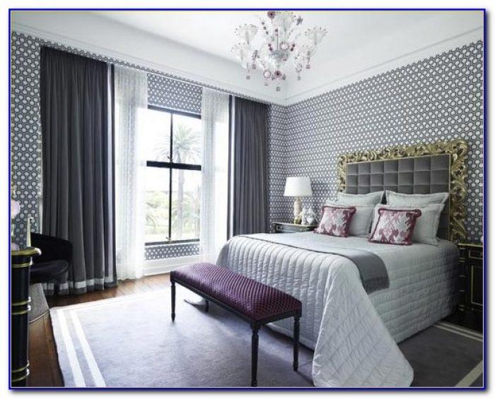 Purple And Grey Room Decor