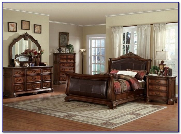 Solid Cherry Wood Bedroom Sets