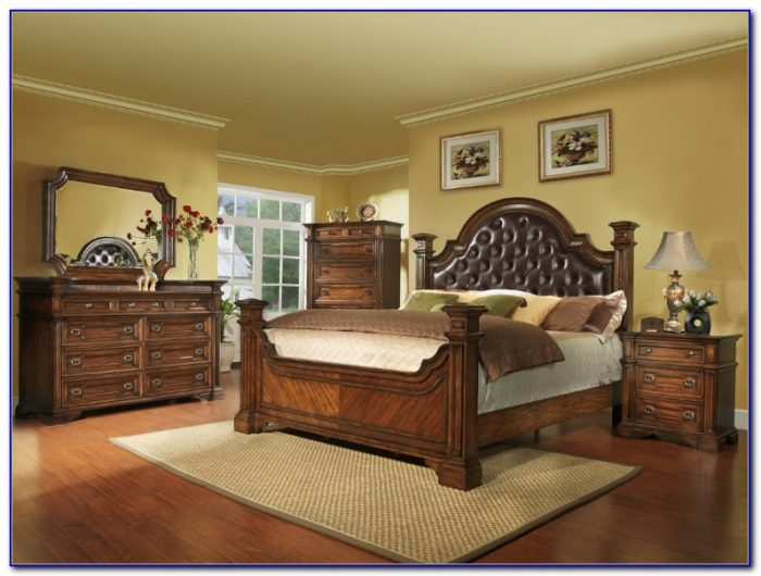 Solid Wood King Bedroom Sets