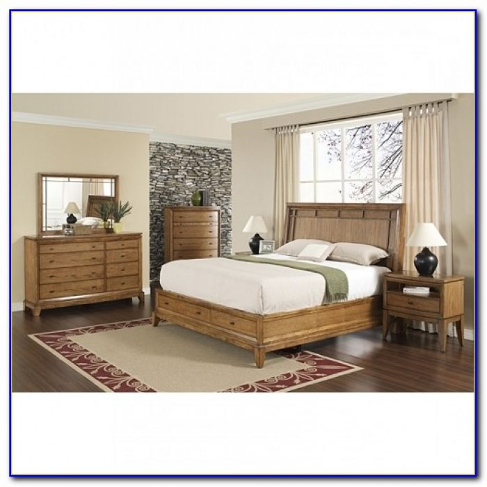Vegas 5 Piece California King Size Bedroom Set