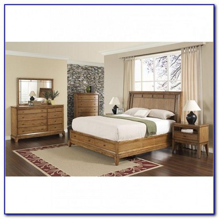 Vegas 5 Piece California King Size Bedroom Set
