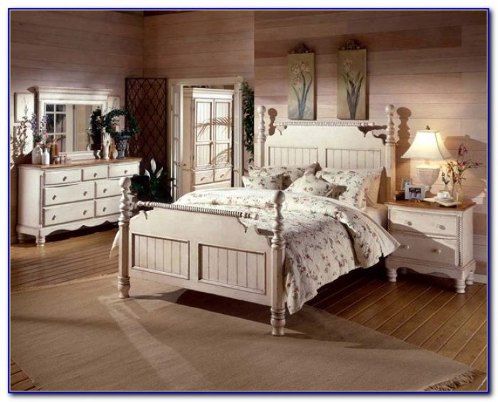 Vintage White Bedroom Furniture Ebay