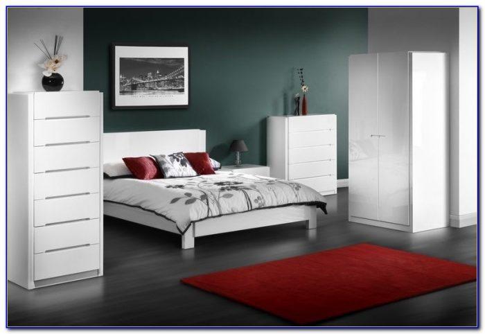 White Gloss Bedroom Furniture Homebase