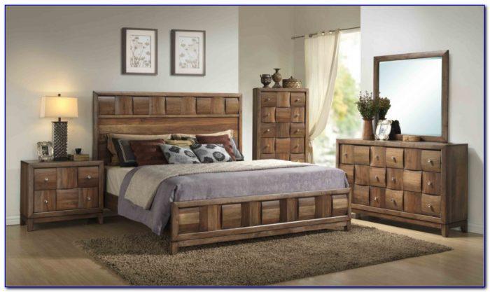 Wood King Bedroom Sets