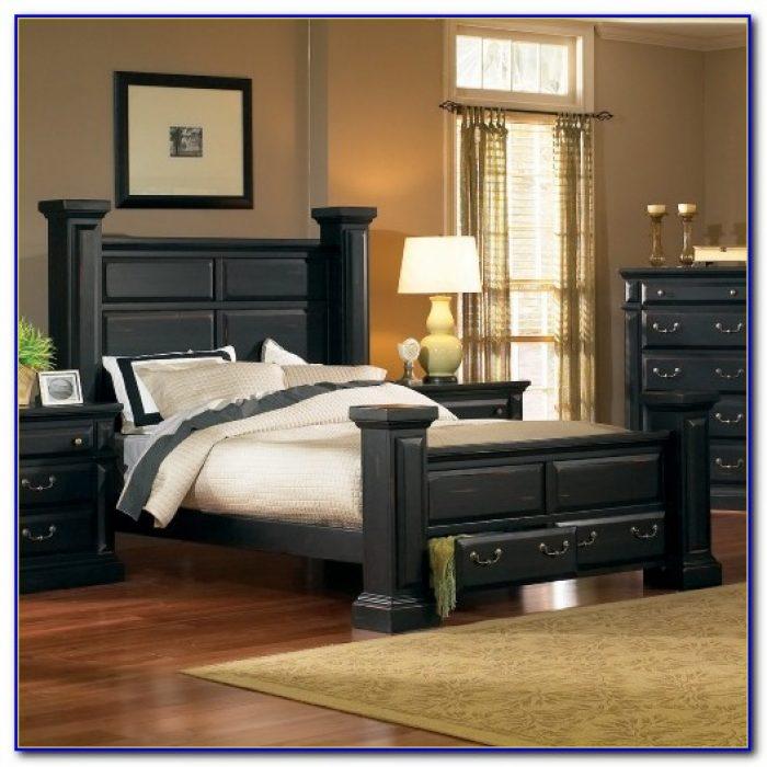 Ashley Furniture Black Poster Bedroom Set