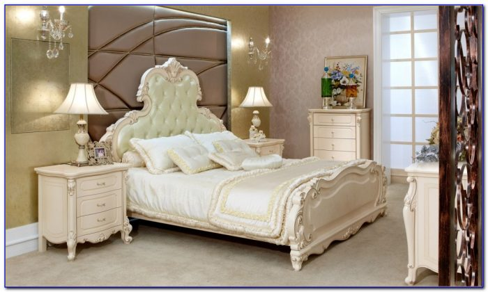 Bedroom Sets In White Wood