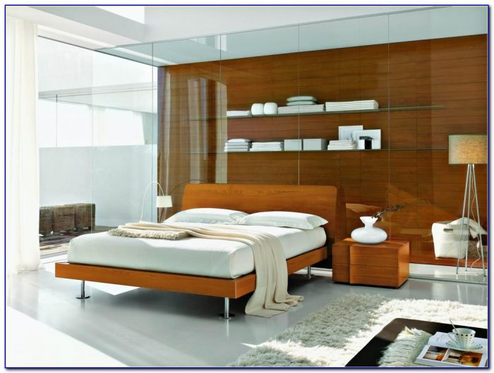 Contemporary Wood Bedroom Furniture Sets
