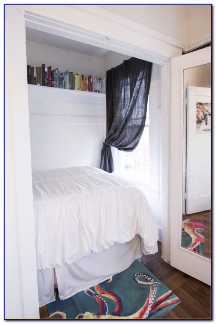 Convert Bedroom Closet Into Entertainment Center