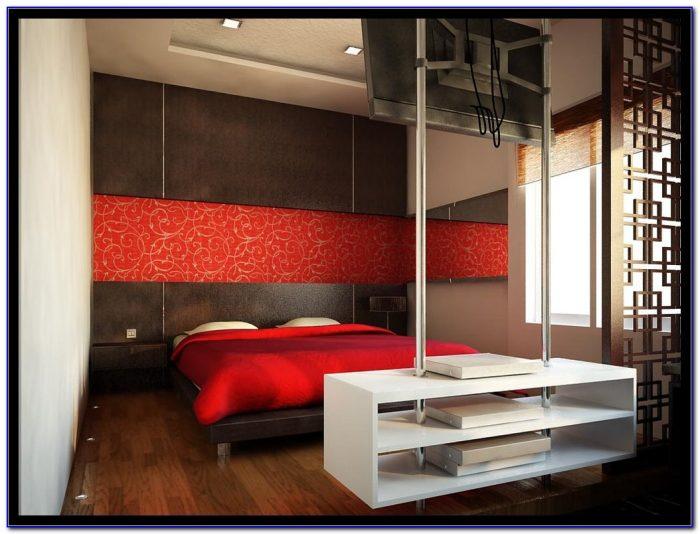 Dark Red Bedroom Decorating Ideas
