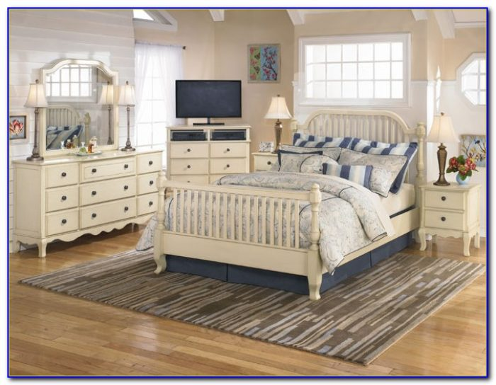 French Country White Headboards Bedroom Furniture