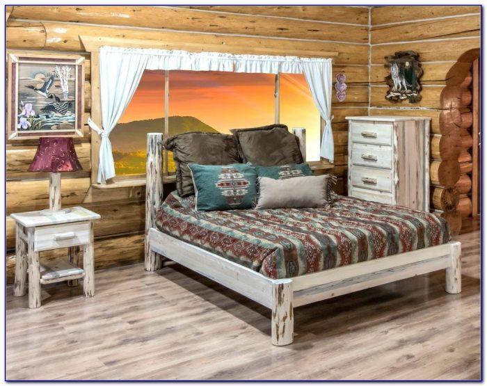Log Cabin Bedroom Comforter Sets